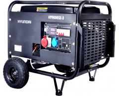 Бензиновый генератор Hyundai HY 9000 SE-3