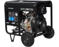 Дизельный генератор Hyundai DHY 6000 LE