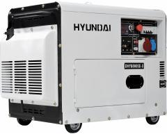 Дизельный генератор Hyundai DHY 8000 SE-3