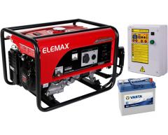 Бензиновый генератор Elemax SH 7600 EX-RS с АВР