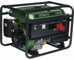 Бензиновый генератор Hitachi E 50 3P