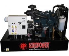 Дизельный генератор Europower EP 103 DE