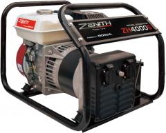 Бензиновый генератор Zenith ZH 4000 S