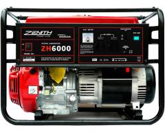 Бензиновый генератор Zenith ZH 6000