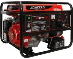Бензиновый генератор Zenith ZH 6000 DXE