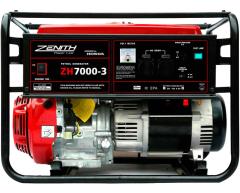 Бензиновый генератор Zenith ZH 7000-3