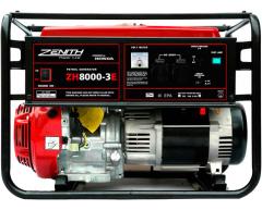 Бензиновый генератор Zenith ZH 8000 E-3
