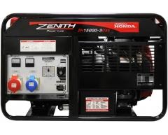 Бензиновый генератор Zenith ZH 15000-3 DXE