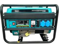 Бензиновый генератор Wert G 3500 D