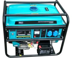 Бензиновый генератор Wert G 6500 ED