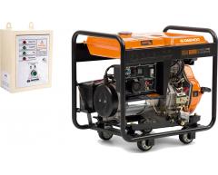 Дизельный генератор Daewoo DDAE 6000 XE с АВР