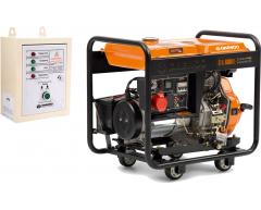 Дизельный генератор Daewoo DDAE 6000 XE-3 с АВР