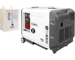 Дизельный генератор Daewoo DDAE 9000 SSE-3 с АВР