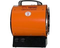 Тепловая пушка электрическая Профтепло ТТ 3 Т (апельсин)