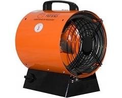 Тепловая пушка электрическая Профтепло ТТ 6/220 (апельсин)