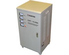 Стабилизатор напряжения электромеханический Suntek СНТ 15000 ВА