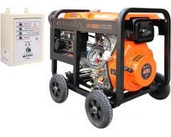 Дизельный генератор Daewoo DDAE 9000 XE с АВР