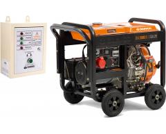 Дизельный генератор Daewoo DDAE 9000 DXE-3 с АВР