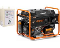Бензиновый генератор Daewoo GDA 7500 E с АВР