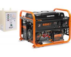 Газовый генератор Daewoo GDA 7500 DFE с АВР