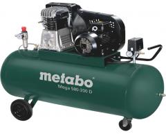 Компрессор масляный Metabo Mega 580-200 D