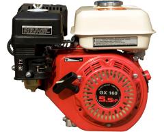 Бензиновый двигатель Grost GX 160 (Q тип)