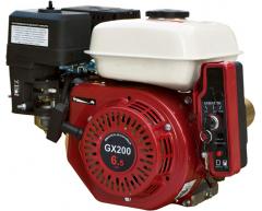 Бензиновый двигатель Grost GX 200 RE