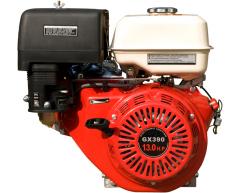 Бензиновый двигатель Grost GX 390 (V тип, короткий конус)