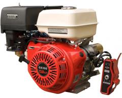 Бензиновый двигатель Grost GX 390 E (V тип)