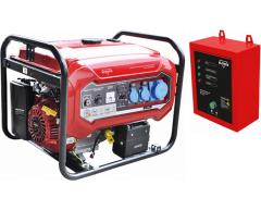 Бензиновый генератор Elitech БЭС 8000 ЕАМ с АВР