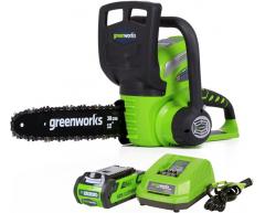 Цепная пила аккумуляторная Greenworks G 40 CS 30 K2