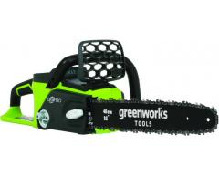 Цепная пила аккумуляторная Greenworks GD 40 CS 40