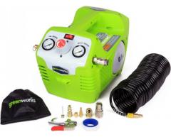 Аккумуляторный компрессор Greenworks G 40 AC