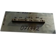 Комплект лопастей TSS 071442 для DMD 900