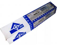 Электроды сварочные ЛЭЗ АНО-21 (3.0 мм, 5 кг)