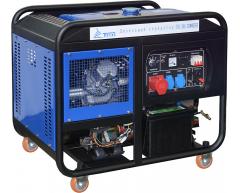 Дизельный генератор TSS SDG 12000 EH3