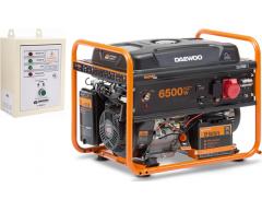 Бензиновый генератор Daewoo GDA 7500 E-3 с АВР