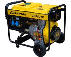 Дизельный генератор Champion DG 6501 E