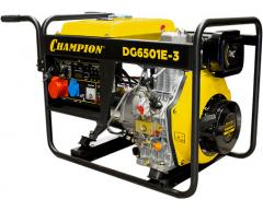 Дизельный генератор Champion DG 6501 E-3