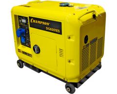 Дизельный генератор Champion DG 6501 ES ATS